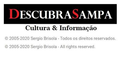 Copyright Descubra Sampa - Sergio Brisola