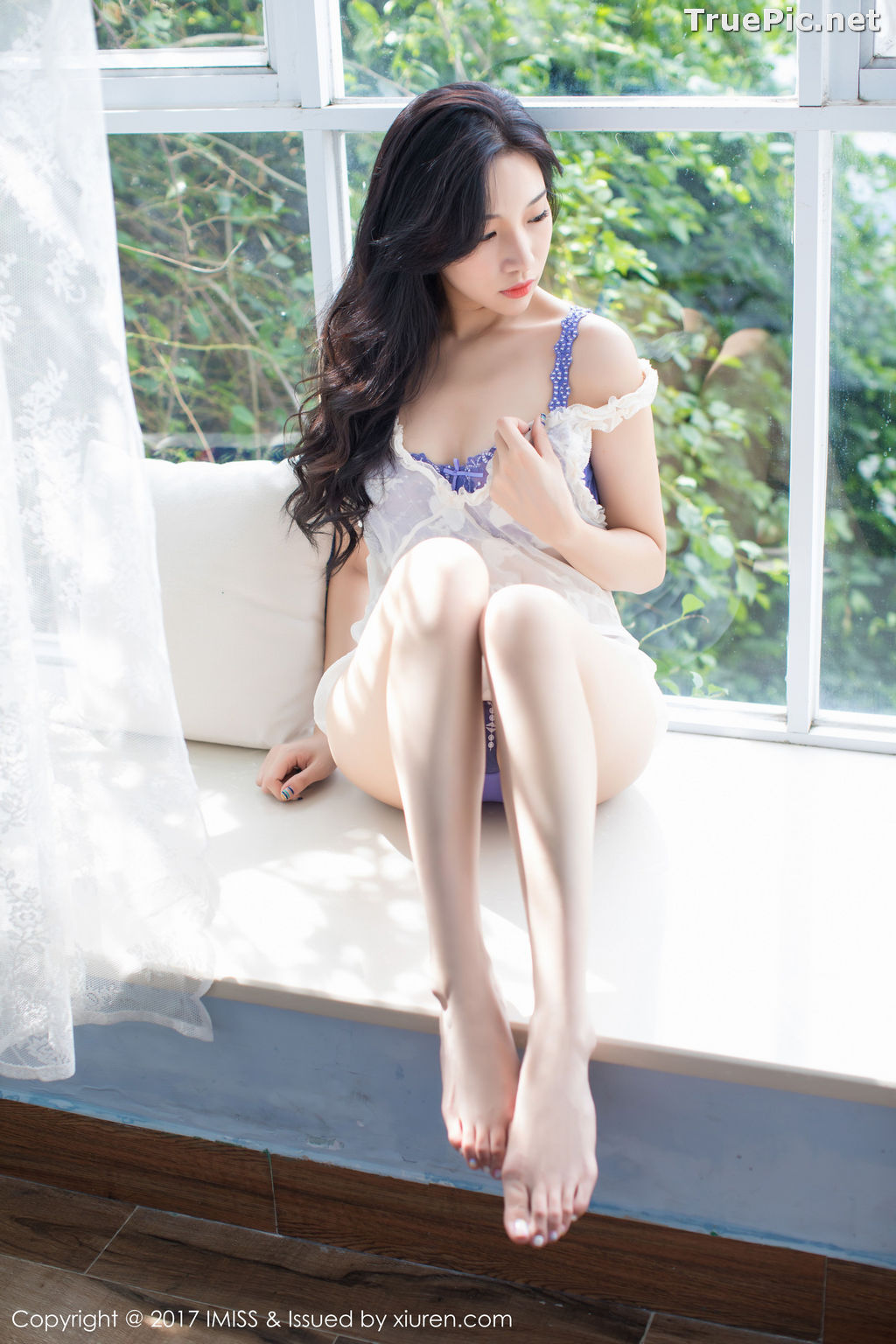 Image IMISS Vol.187 - Chinese Model Xiao Hu Li (小狐狸Sica) With Stockings Beautiful Legs - TruePic.net - Picture-4