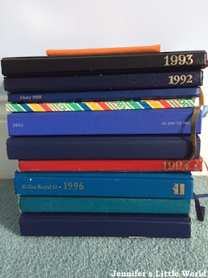 Collection of old diaries