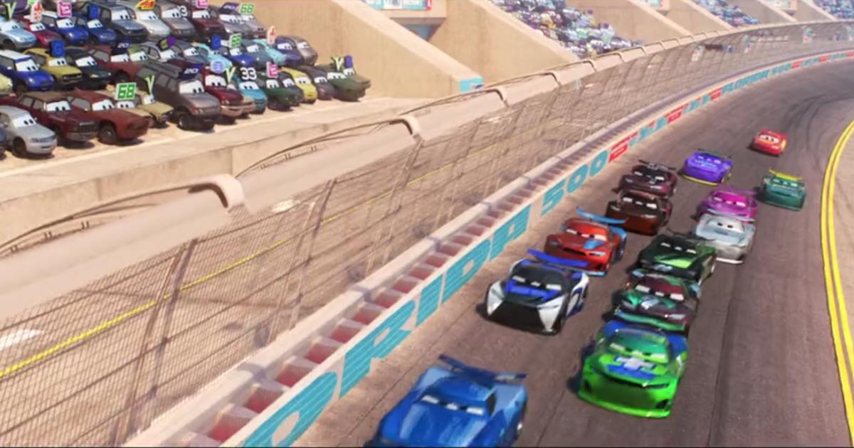 DISNEY PIXAR CARS NOAH GOCEK CLUTCH AID NEXT GEN RACERS 2020