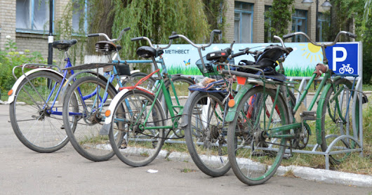 Local Bike Activists are Making Avdiivka a more Sustainable and Safe City