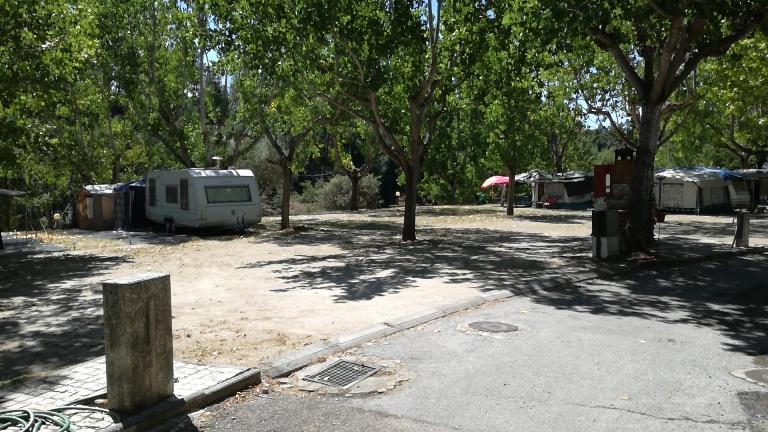 Caravanas no Parque de Campismo do Rabaçal