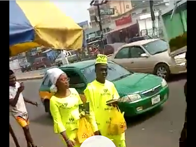 Couples Rock Balenciaga Material To Church, People Mocks Them On The Road. VIDEO