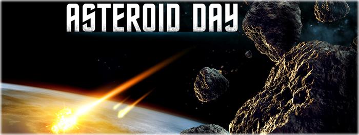 Dia Internacional dos Asteroides - Asteroid Day - programação e eventos ao vivo