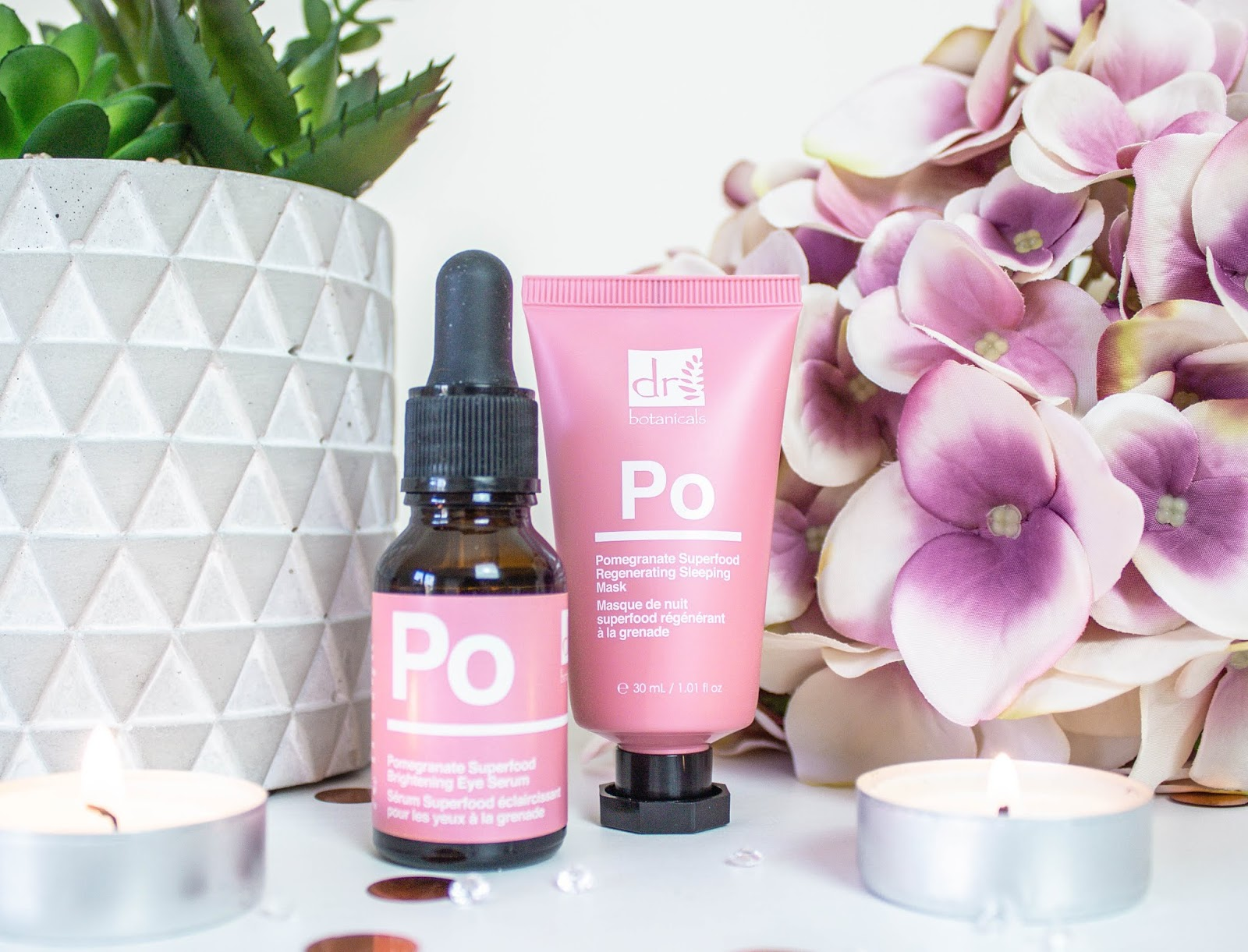Harness The Power Of Superfoods: Pomegranate Skincare From Dr Botanicals + Discount Code (AD)