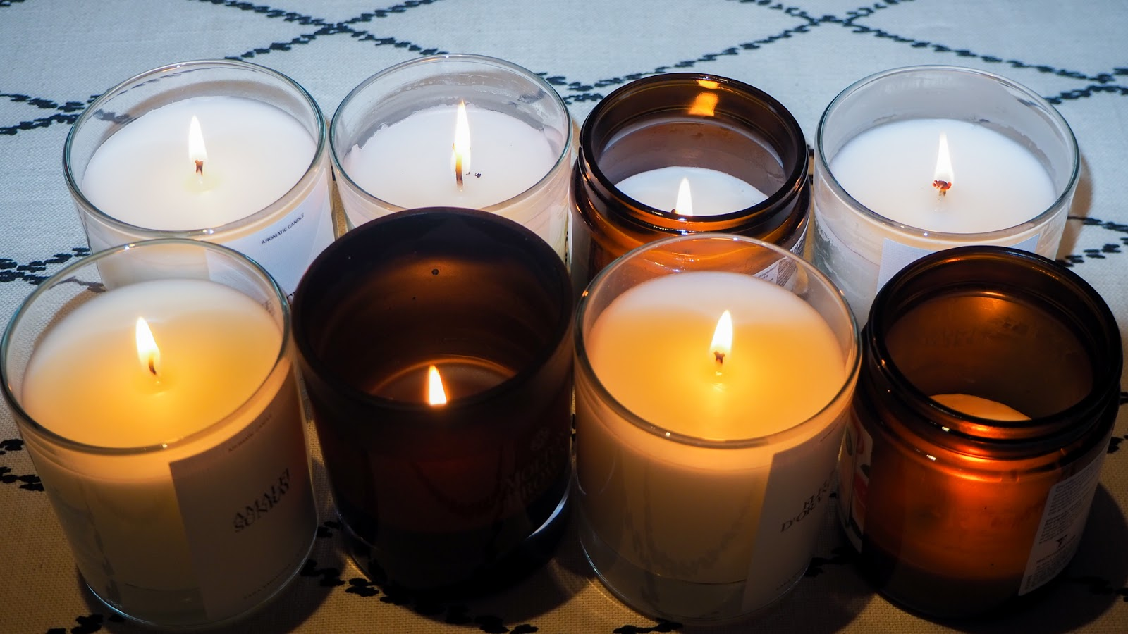 Scented Candles for a Cozy Lockdown