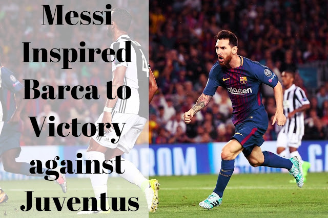 Lionel Messi inspired FC Barcelona to a 3-0 victory over Juventus which has been pivotal in turning around the season
