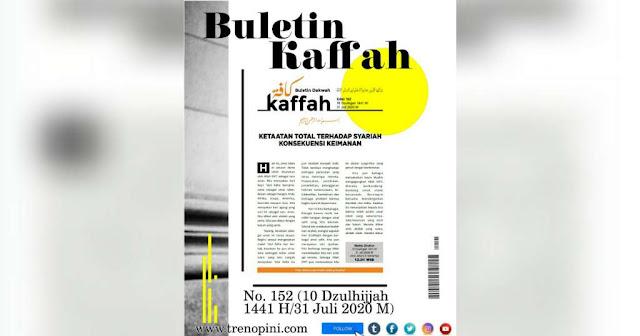 Buletin Kaffah No. 152 (10 Dzulhijjah 1441 H/31 Juli 2020 M)