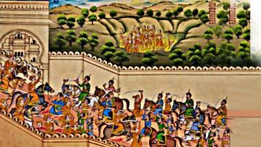 Rawal Ratan Singh and Alauddin Khilji Battle