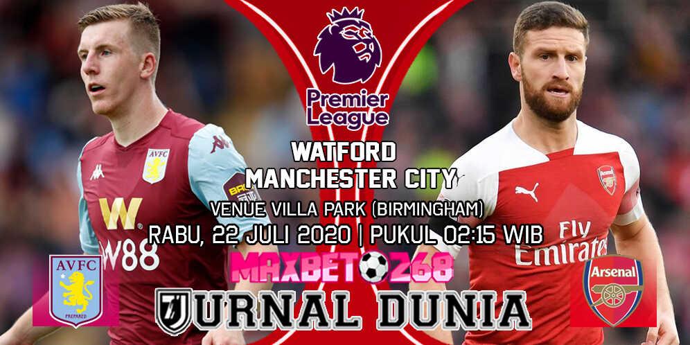 Prediksi Aston Villa vs Arsenal 22 Juli 2020 Pukul 02:15 WIB