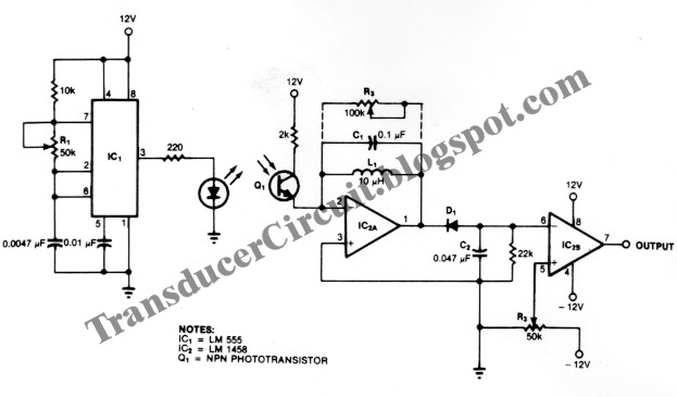Ambient Light Ignoring Active Motion Detector Circuit