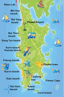 thailand väder phuket
