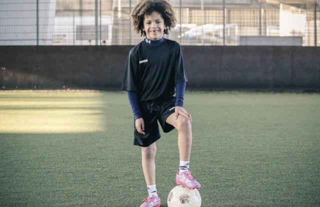 10 años de edad y es el niño superestrella del'Chelsea'