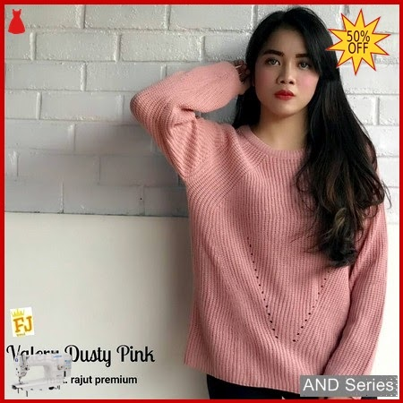 AND301 Baju Atasan Wanita Blouse Valery Dusty BMGShop