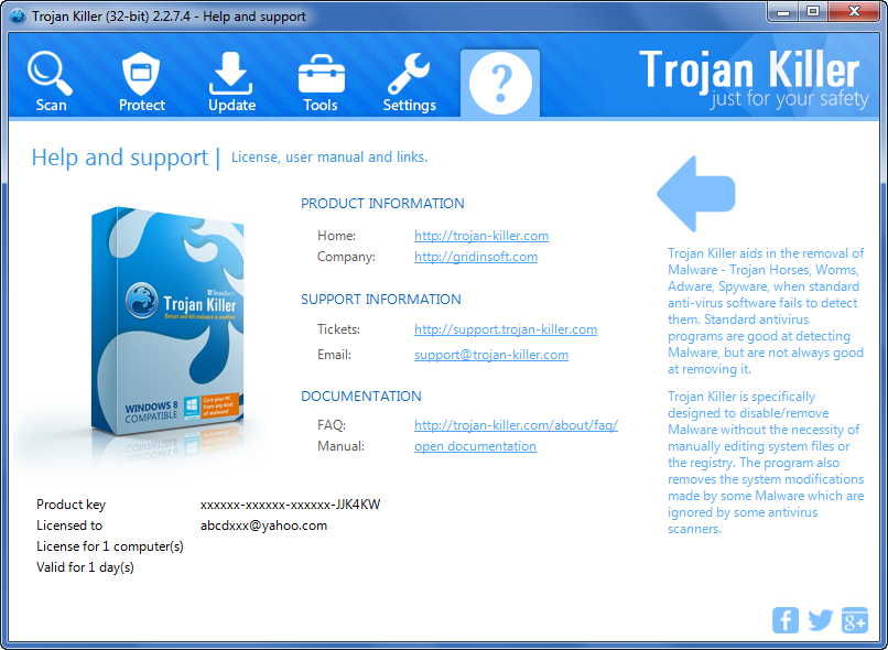 Get GridinSoft Trojan Killer 32 bit Patch