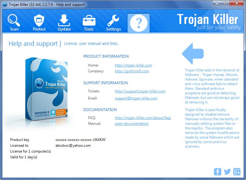 Get GridinSoft Trojan Killer 32 bit Patch