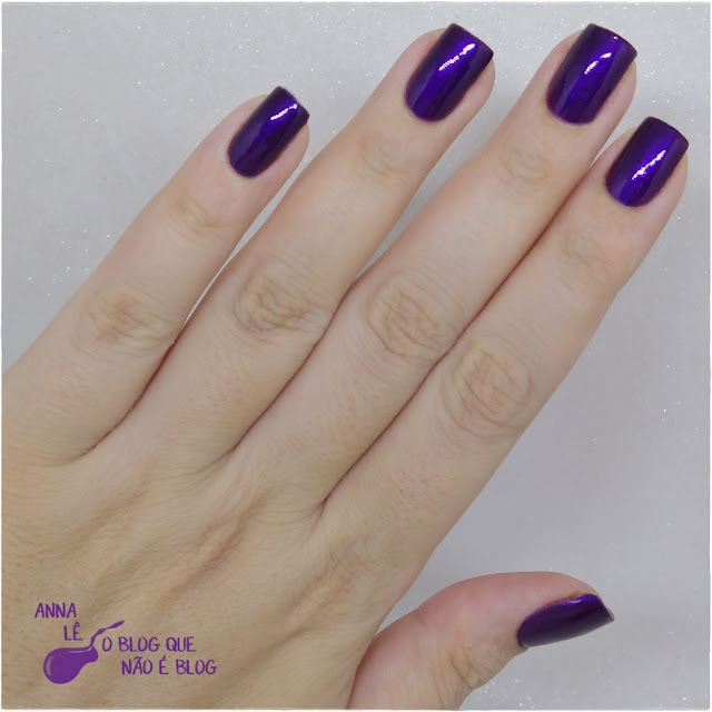 Plum Paradise Maybelline Color Show Esmalte Nailpolish Purple Roxo