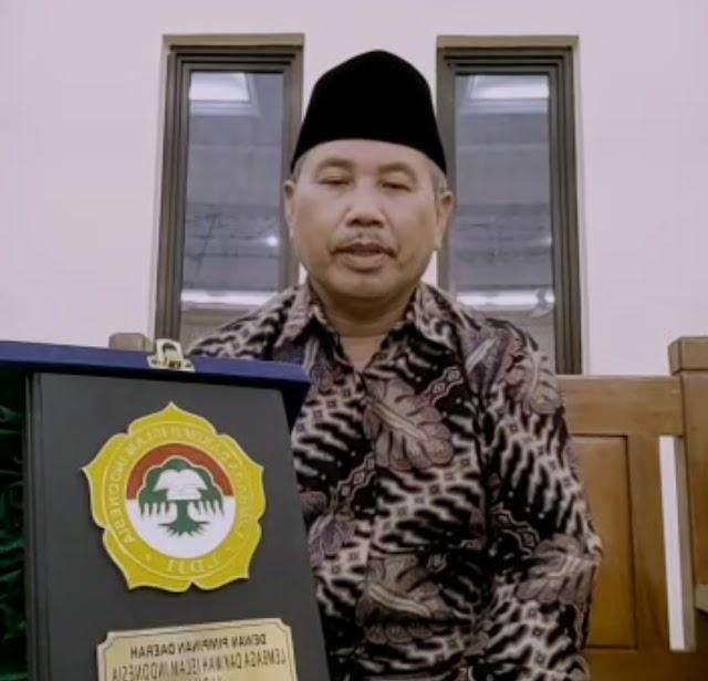 Perntaan Sikap Ketua Umum DPD LDII Kab. Nganjuk Terkait Situasi Terkini di Jakarta