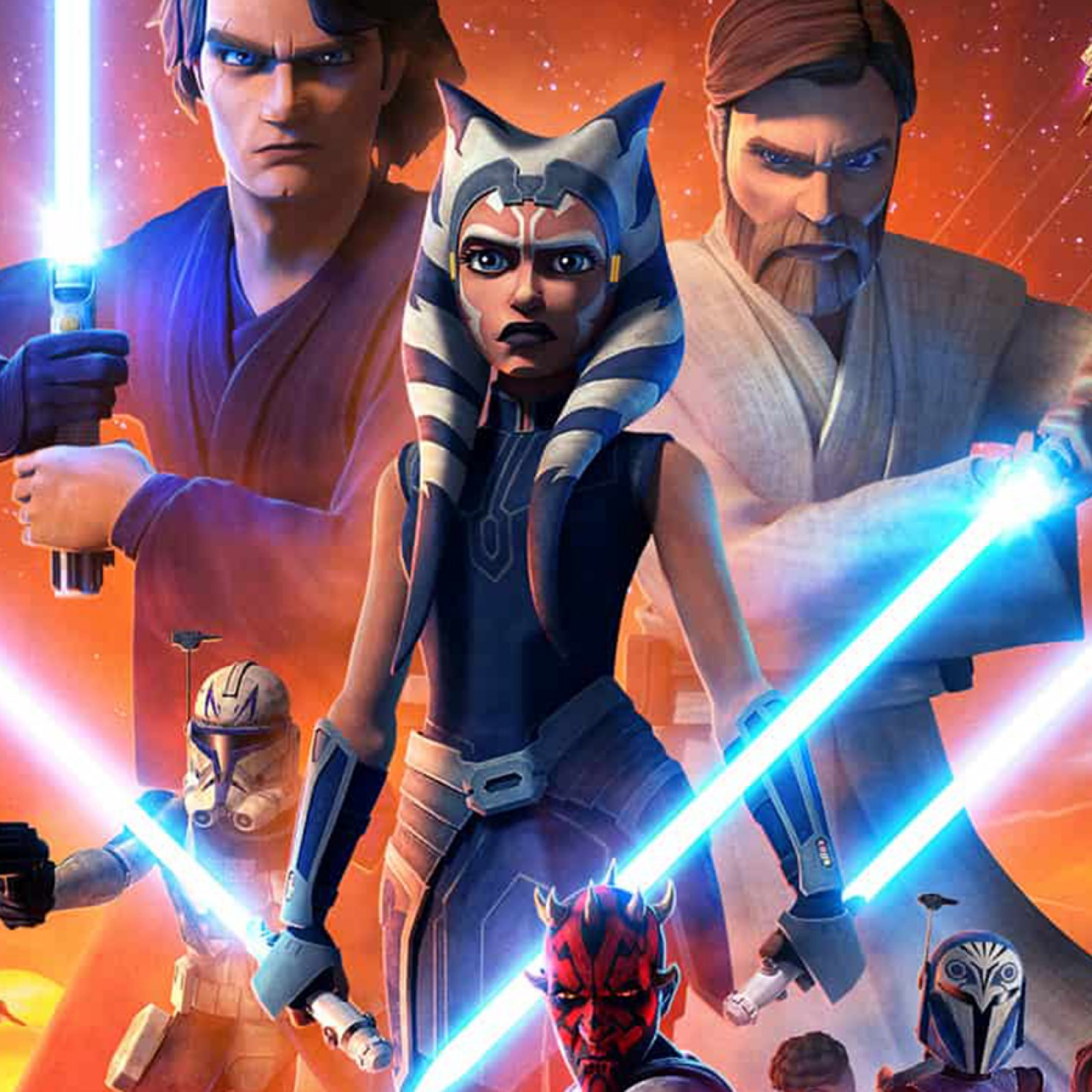 Xem Anime Phần 7 Chiến tranh giữa các vì sao -Star Wars 7 -  VietSub