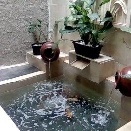 tukang kolam koi minimalis nganjuk jasa pembuatan kolam