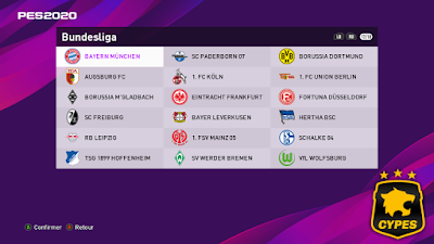 eFootball PES 2020 PS4/PC Bundesliga Patch Season 2019/2020 by CYPES