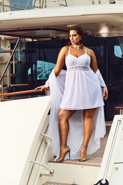 Model plus-size Ashley Graham