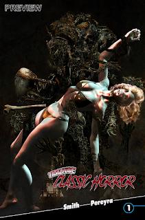 Classic Horror Comics - Cover
