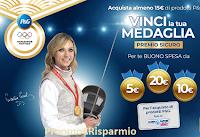 Logo Concorso ''Vinci la tua medaglia con P&G'': premio certo buoni spesa fino a 20€