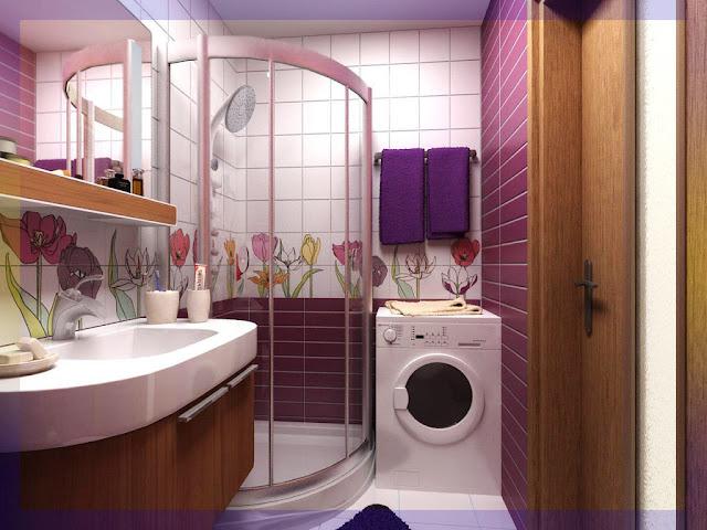 صور ديكور حمامات صغيرة 2021