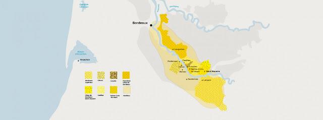 Sweet Bordeaux wine appellations