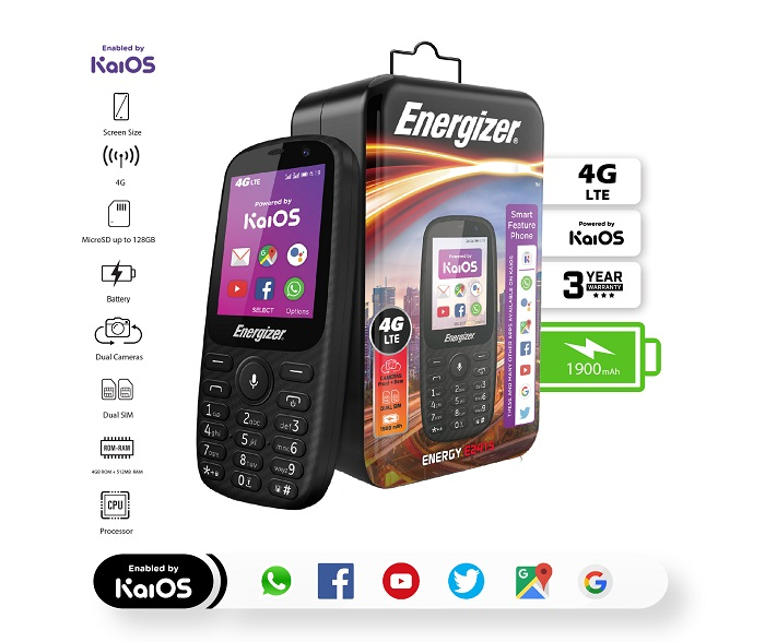 Energizer Energy Phone With 6 Days Of Battery Life