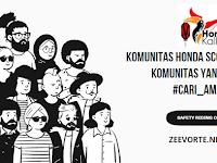 Komunitas Honda Scoopy Menjadi Komunitas Yang Wajib #Cari_Aman