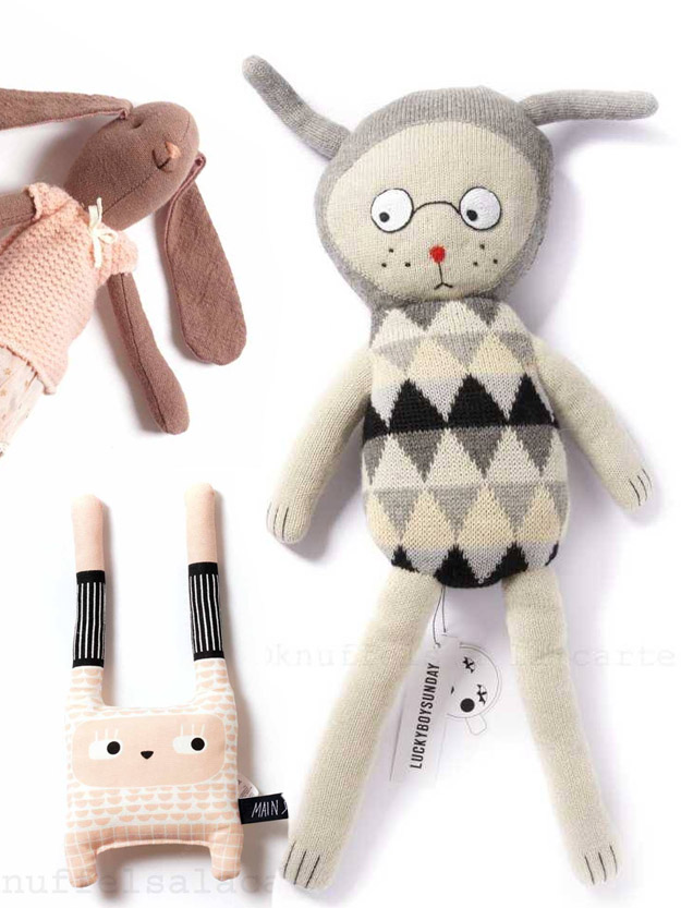 Bunny soft toys