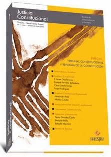 Revista Justicia constitucional Tomo I