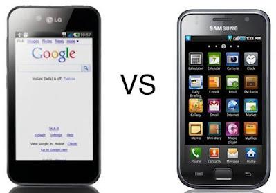 Persaingan LG dengan Samsung