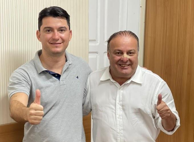 Paulinho Freire recebe outra adesão para Fecam/RN: Pedro Avelino na região Central