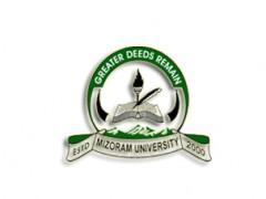 Mizoram University Recruitment 2020