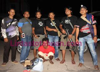 Polisi Tangkap Pelaku Curat di Tulang Bawang Barat, Modus Pura-Pura Mau Ambil HP Yang di Service