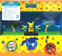 Pikachu Z-move Takara Tomy MONCOLLE GET