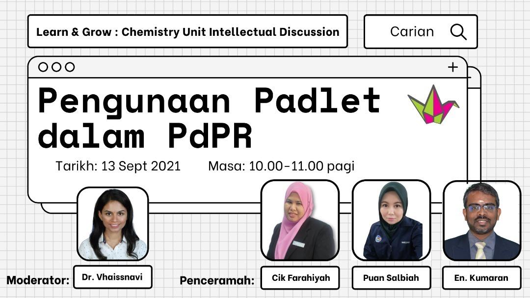 Penggunaan Padlet dalam PdPr