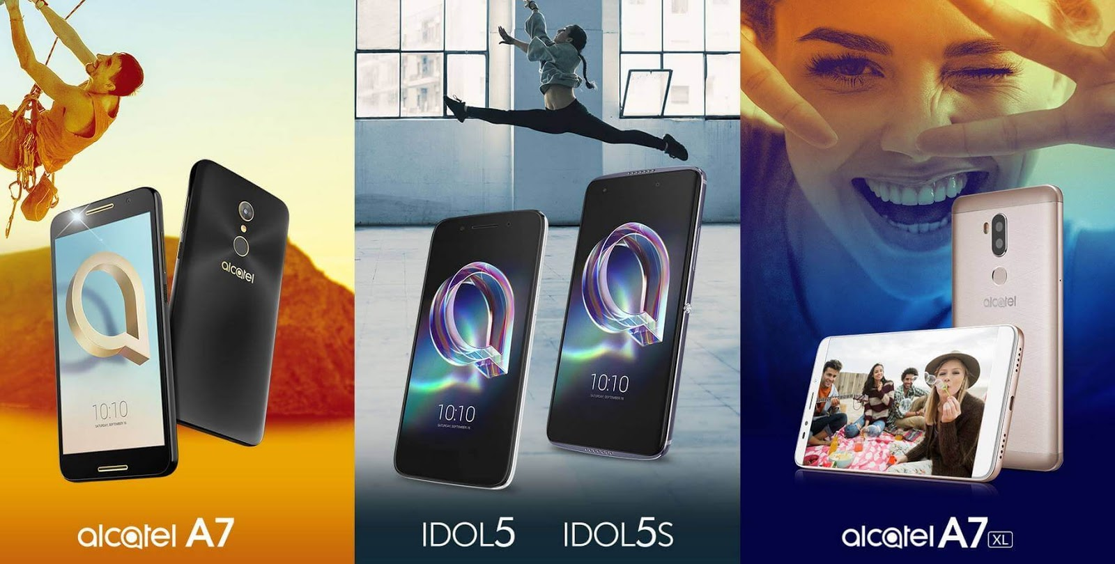 Alcatel Launches The Alcatel Idol 5, Idol 5S, A7, and A7 XL