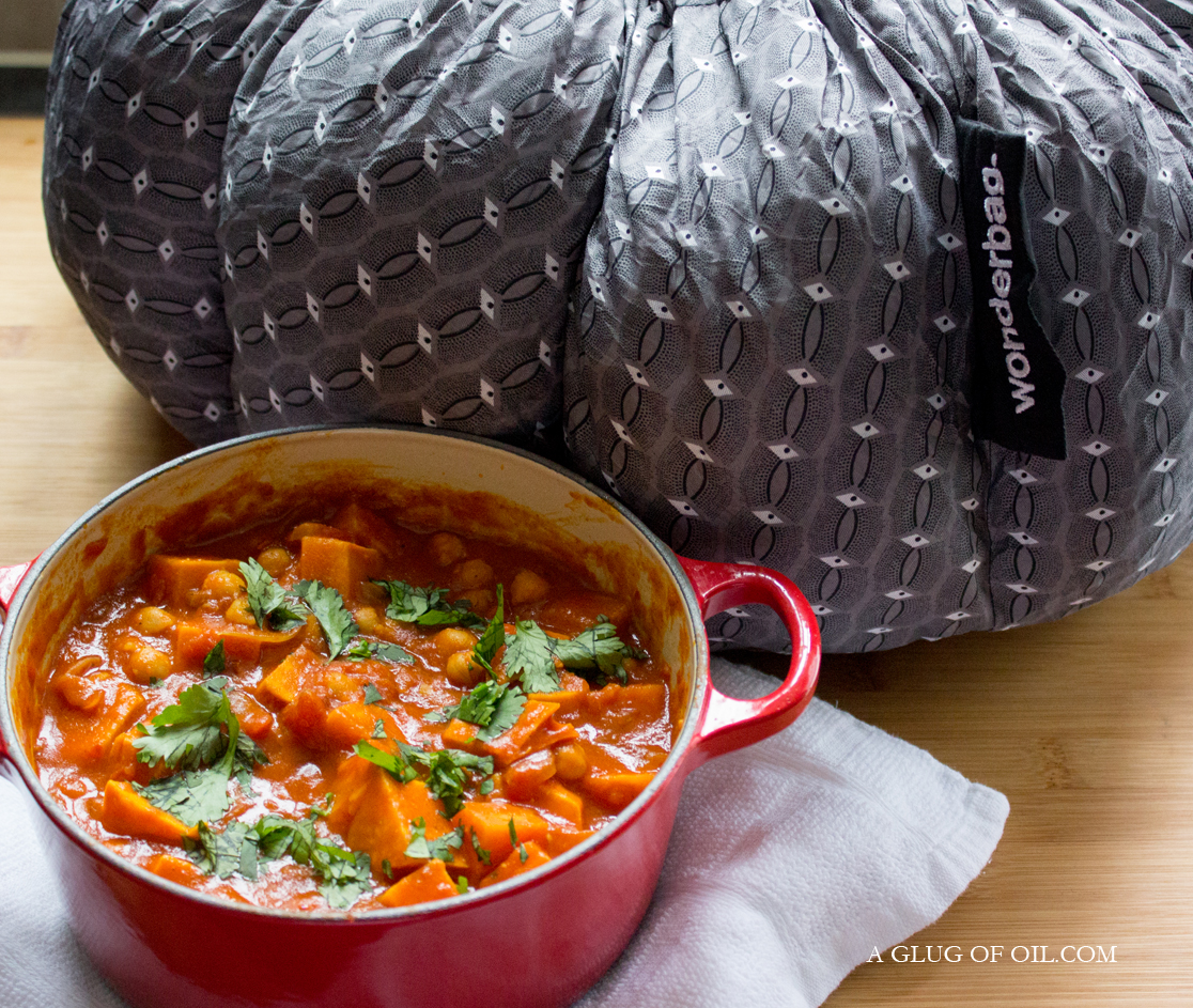 Sweet Potato and Chickpea Casserole and the Wonderbag