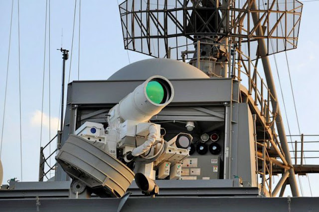 The world's first Laser Weapons ready for action