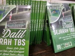 Belum Tercetak, Dalil Sejarah TBS Hampir Habis Terjual