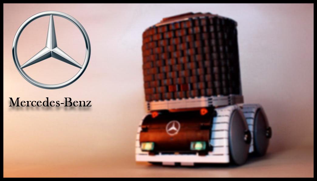 Limitlessbricks Com Mercedes Benz Truck Of The Future