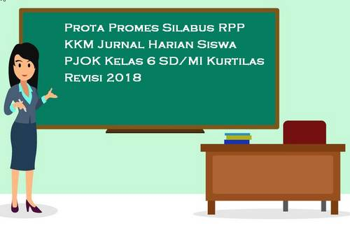 Prota Promes Silabus RPP PJOK Kelas 5 SD/MI Kurtilas Revisi 2018