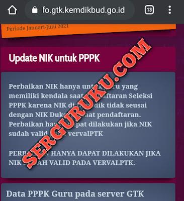 Data Dapodik Tidak Ditemukan PPPK Guru SSCN