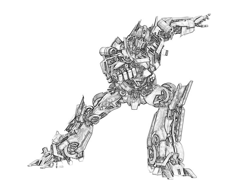 Printable Transformers Coloring Pages Best Coloring