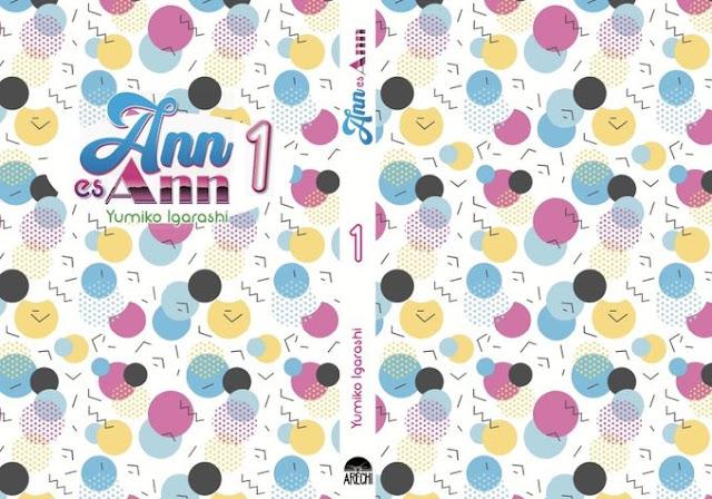 Arechi Manga muestra la sobrecubierta de Anne wa Anne de Yumiko Igarashi.