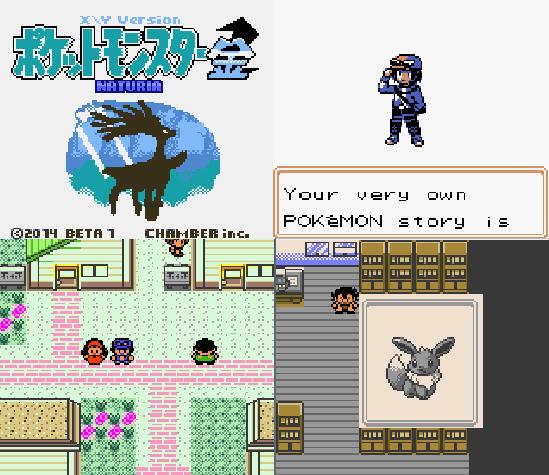 Pokemon XY Naturia GBC ROM Download